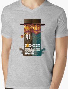 For A Few Dollars More movie poster Mens V-Neck T-Shirt