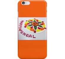 Happy Pongal iPhone Case/Skin