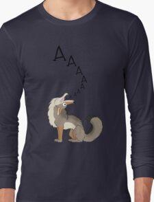 Howling Coyote - AAAAAA! Long Sleeve T-Shirt