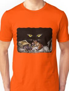 Sneaking in the Shadow Unisex T-Shirt