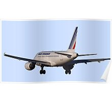 Airbus A320 from back Poster