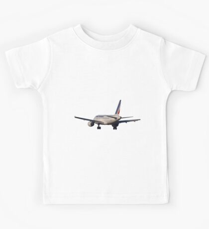 Airbus A320 from back Kids Tee