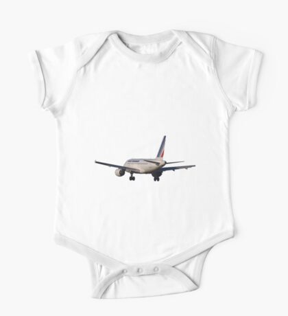 Airbus A320 from back One Piece - Short Sleeve