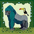 The Gorilla and The Toucan by Oliver Lake