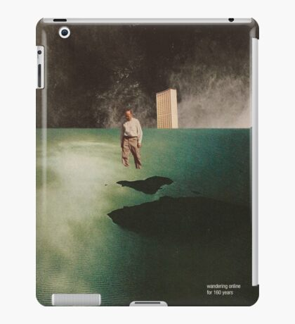 Wandering online for 160 years iPad Case/Skin