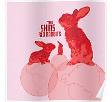 The Shins Red Rabbits Poster