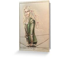 Emma, Queen of the Lost Boys Greeting Card