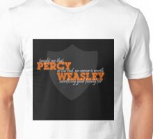 Percy Weasley Taught Me..... Unisex T-Shirt