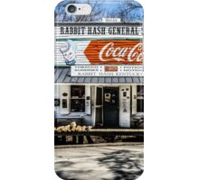 Rabbit Hash Store-Front View iPhone Case/Skin