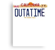 OutAtime Canvas Print
