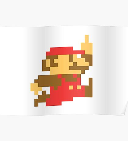Rude Mario Poster
