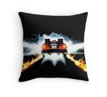BTF - Delorean Throw Pillow