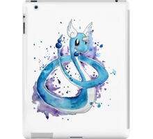 Pokemon Watercolor - Dragonair #148 iPad Case/Skin