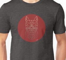 Wireframe Cat Unisex T-Shirt