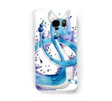 Pokemon Watercolor - Dragonair #148 Samsung Galaxy Case/Skin