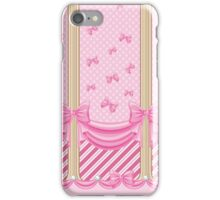 Lolita Ribbon Trim iPhone Case/Skin