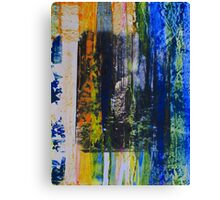 Spouse in the Forest - Original Wall Modern Abstract Art Painting Canvas Print