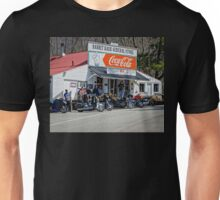 Rabbit Hash Store-Front View Bikers Unisex T-Shirt