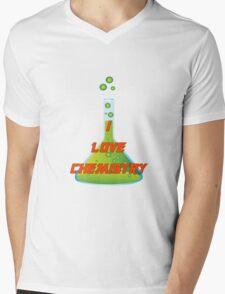 I Love Chemistry Mens V-Neck T-Shirt