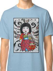 Ichimatsu ningyo, maneki neko and daruma doll  Classic T-Shirt