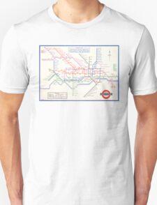 LONDON UNDERGROUND MAP 1933 HARRY BECK T-Shirt