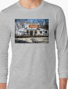 Rabbit Hash Store-Front View Long Sleeve T-Shirt