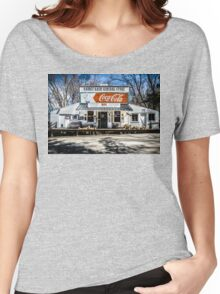 Rabbit Hash Store-Front View Women's Relaxed Fit T-Shirt