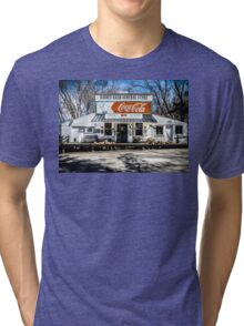 Rabbit Hash Store-Front View Tri-blend T-Shirt