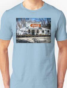 Rabbit Hash Store-Front View Unisex T-Shirt