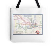 LONDON UNDERGROUND MAP 1933 HARRY BECK Tote Bag