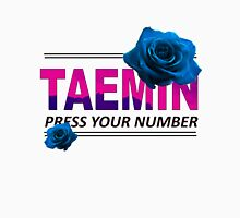 Taemin Press Your Number Unisex T-Shirt