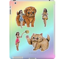 Tiny Pin ups ans Fluffy Pets iPad Case/Skin