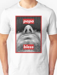 Papa bless (h3h3productions) Barbara Kruger style T-Shirt
