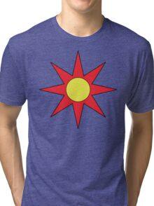 Solaire Astora abstract Sunbro's Tri-blend T-Shirt