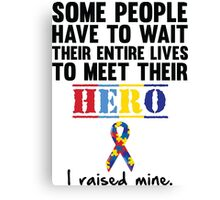 Autism Hero Canvas Print