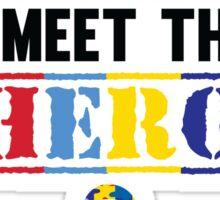 Autism Hero Sticker