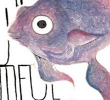 Beautiful Tropical Fish Sticker