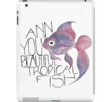 Beautiful Tropical Fish iPad Case/Skin