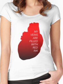 Red Ink Women's Fitted Scoop T-Shirt