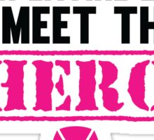 Breast Cancer Hero Sticker