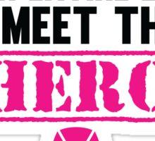 Breast Cancer Hero Sticker