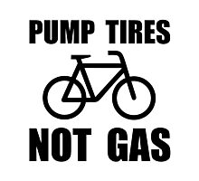 Pump Tires Photographic Print