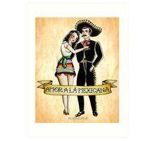 Amor a la Mexicana Art Print