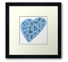"""Math Geek"" Framed Print"