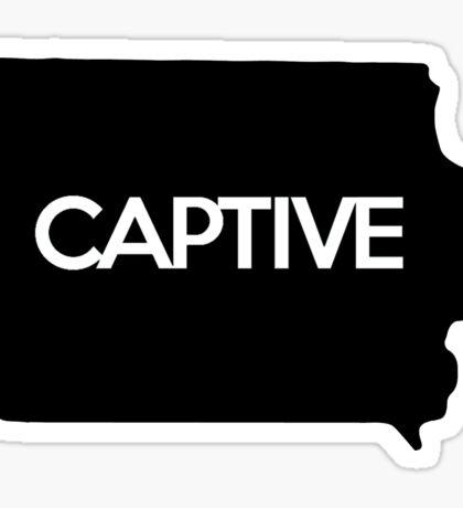 Iowa Captive IA Sticker