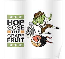 Hop Gose The Grapefruit Poster