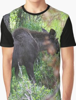 Bubba, the baby bull moose Graphic T-Shirt