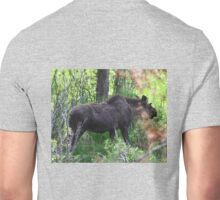 Bubba, the baby bull moose Unisex T-Shirt