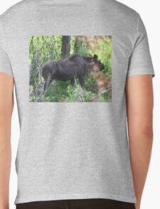 Bubba, the baby bull moose Mens V-Neck T-Shirt