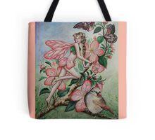 Cherry blossom fairy  Tote Bag